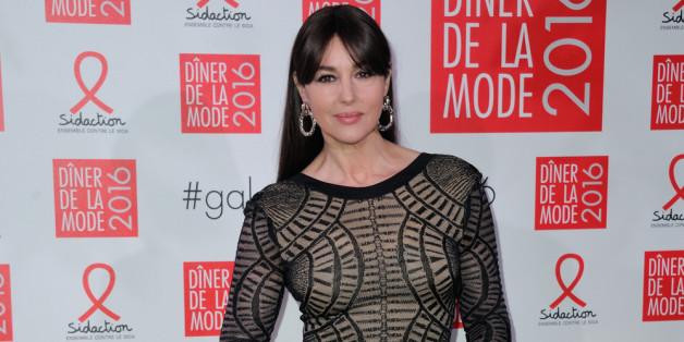 Monica Bellucci bei einem Gala-Dinner in Paris