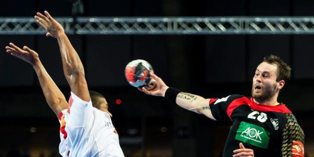 Fäth während der Handball-EM 2016
