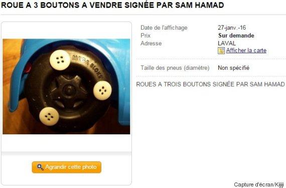roue à 3 boutons