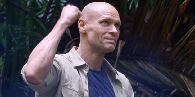 Thorsten Legat freut sich über seinen dritten Platz im Dschungelcamp