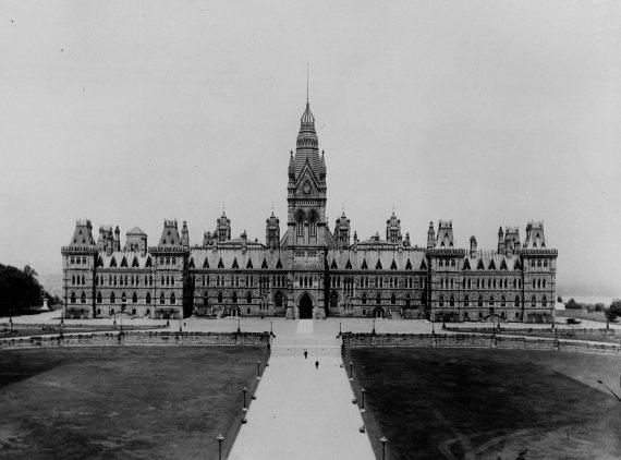 parliament hill fire 1916