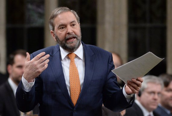 thomas mulcair question period 2016