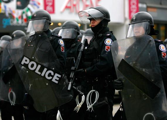 g20 toronto protest police