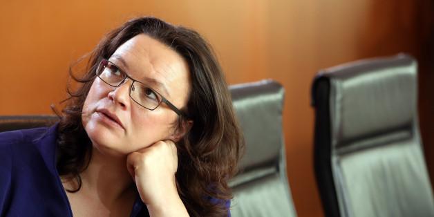 Arbeits- und Sozialministerin Andrea Nahles