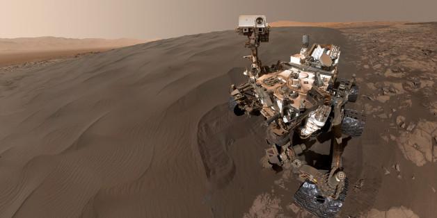 La sonde de la NASA Curiosity vadrouille sur Mars