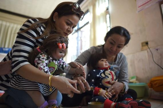 poupées thailande