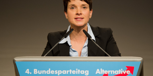 AfD-Chefin Petry.
