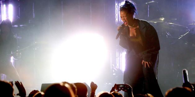 Rihanna hat bei ihrem neuen Album Kunst darstellen wollen