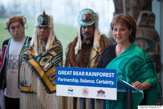 christy clark great bear rainforest