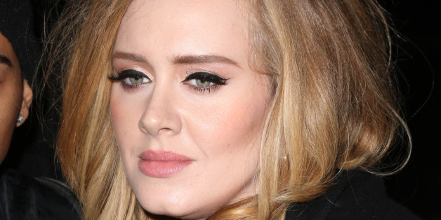 Photo by: KGC-146/STAR MAX/IPx 2015 11/19/15 Adele is seen in New York City. (NYC)