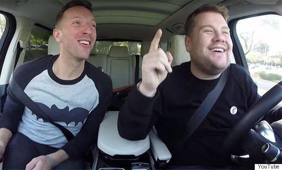 chris martin james corden carpool karoke