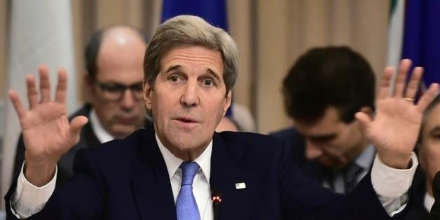 Le secrétaire d'Etat américain John Kerry, à Rome, le 2 février 2016
