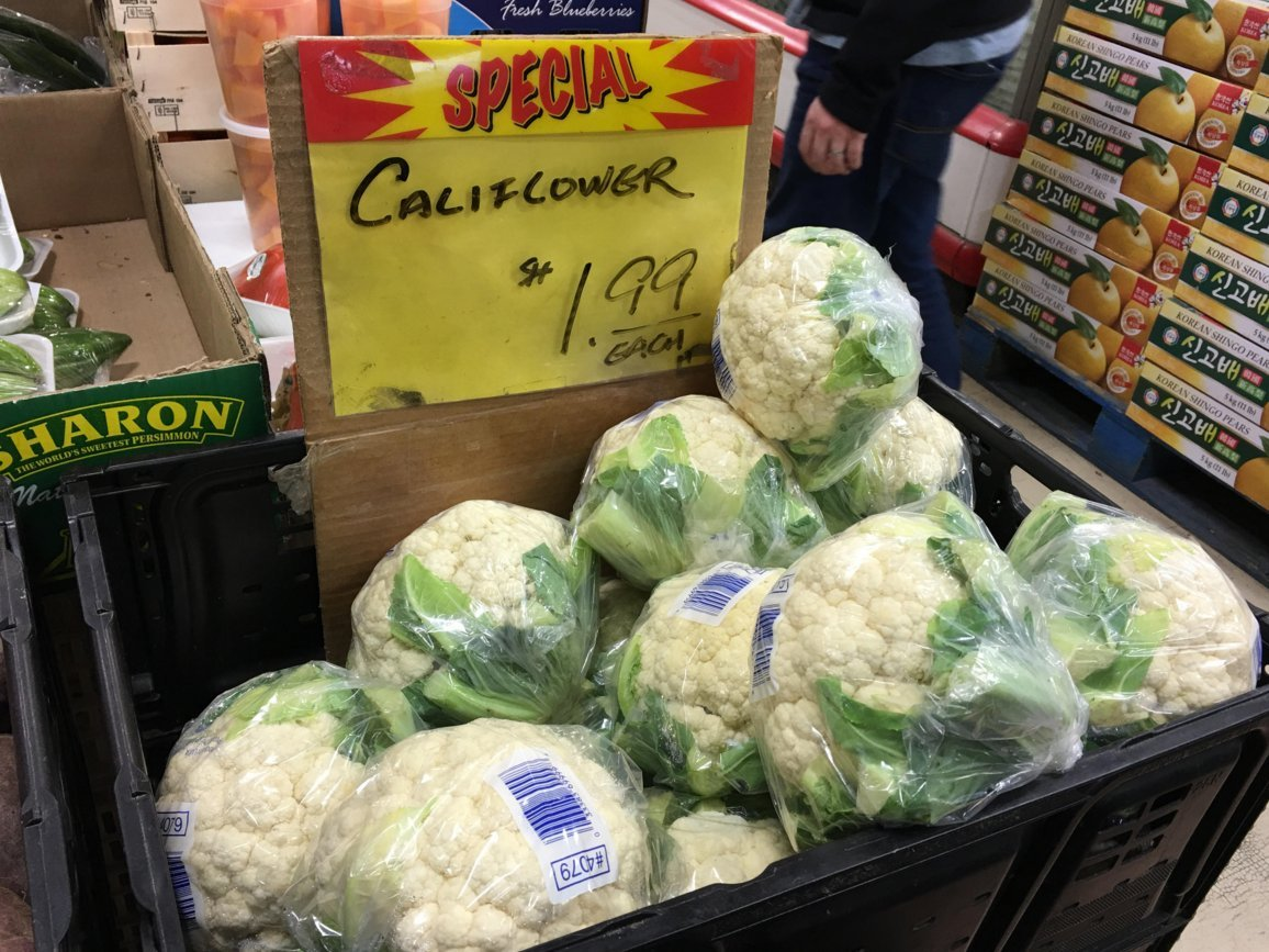 cauliflower toronto