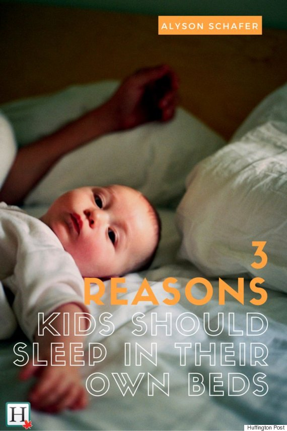 Co-Sleeping: Three Reasons Why Your Kids Need To Sleep In Their Own Beds