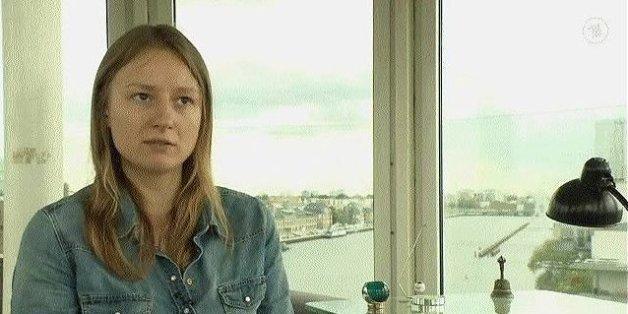Die deutsche Journalistin Janina Findeisen