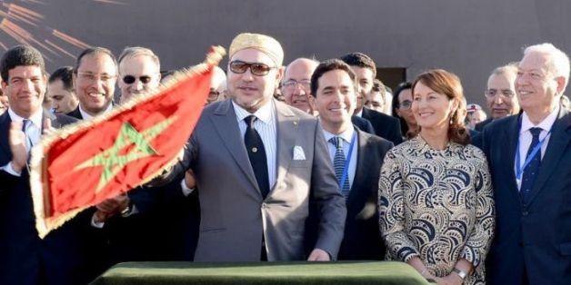 Inauguration de la centrale solaire Noor I par le roi Mohammed VI, le 4 février à Ouarzazate