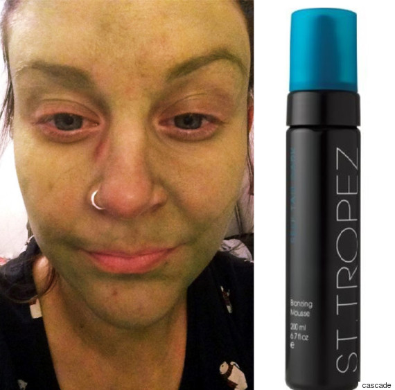 woman claims san tropez fake tan made her face turn green 39 like the incredible hulk 39 huffpost uk