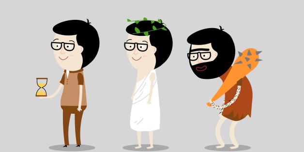 Men from different eras