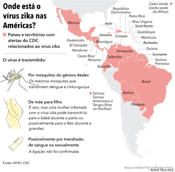 zika nas américas