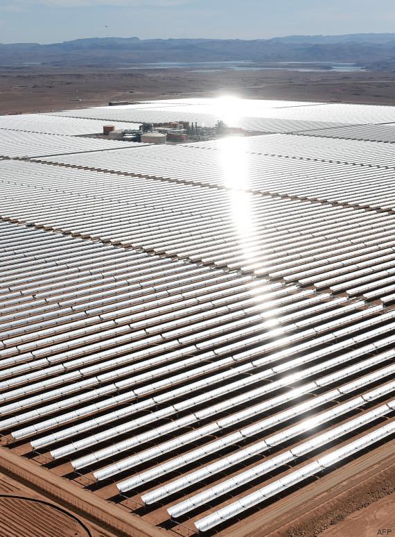 centrale solaire maroc