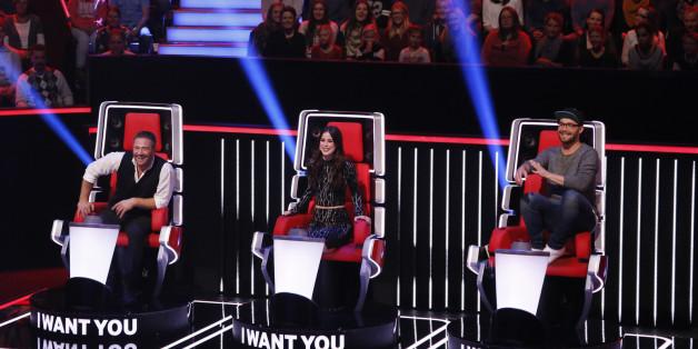 Sasha, Lena und Mark Forster sind die Juroren bei The Voice Kids