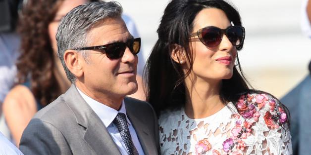 So machte Clooney Amal den Antrag
