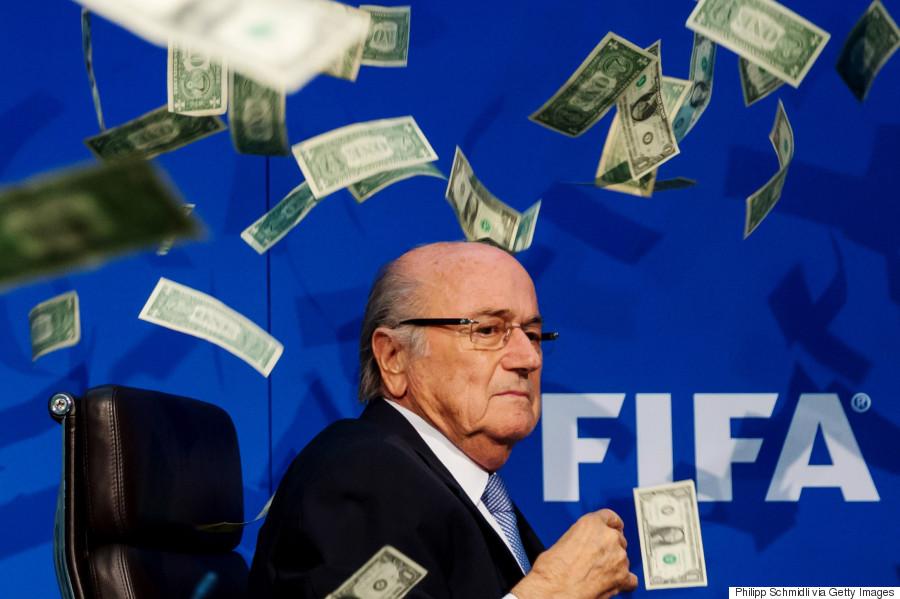 joseph blatter money