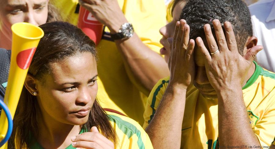 brazil weep world cup