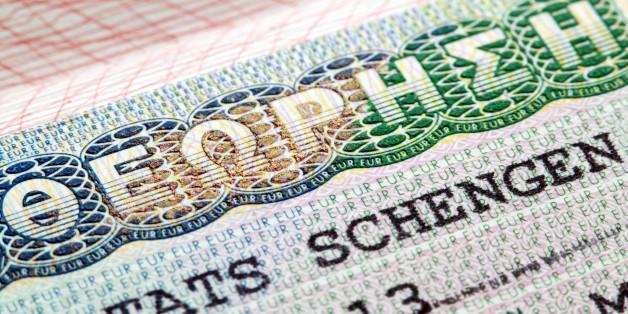 Schengen visa in Passport issued by Greek Embassy