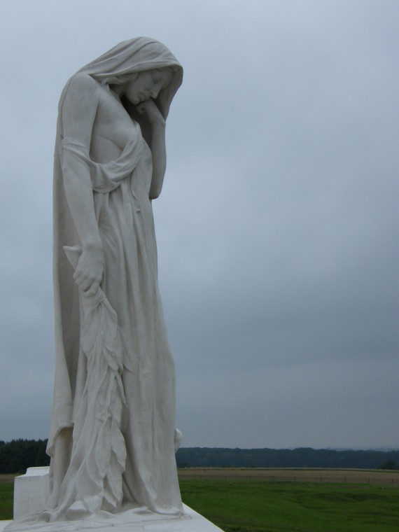 mother canada monument vimy ridge