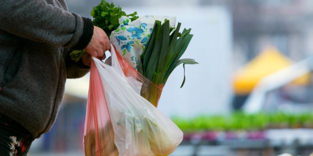 Plastiktüten sind nicht gut für die Umwelt