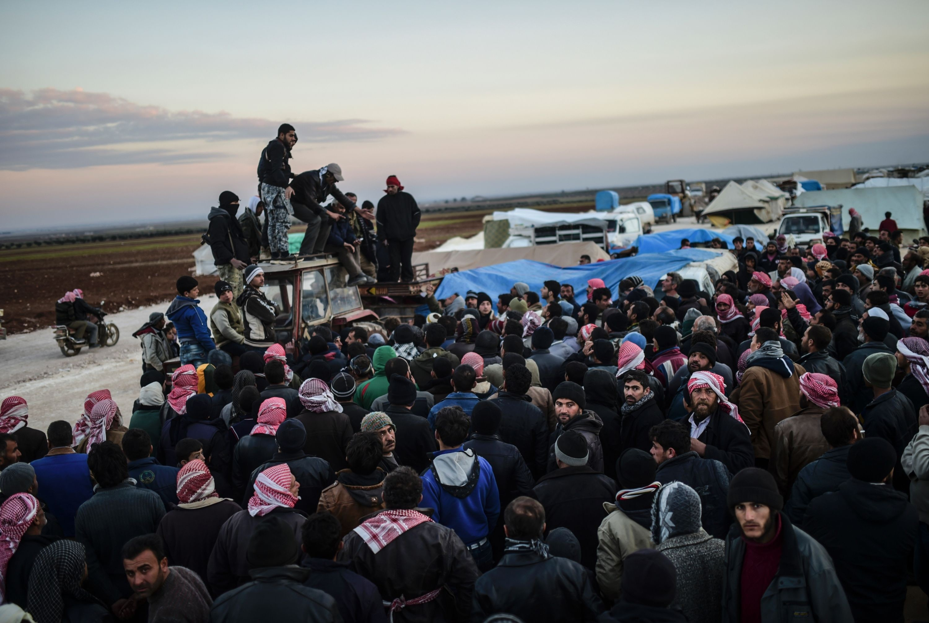 refugees syria turkey february 2016