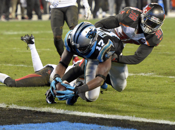 carolina panthers touchdown