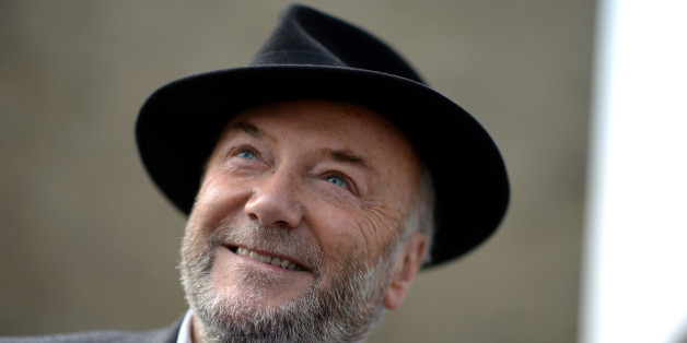 BRADFORD, ENGLAND - APRIL 24:  The Respect Party's George Galloway poses for a portrait during election campaigning on April 24, 2015 in Bradford, England.  Britain goes to the polls in a General Election on May 7. (Photo by Nigel Roddis/Getty Images)