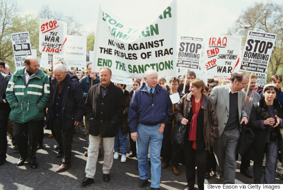 george galloway tony benn