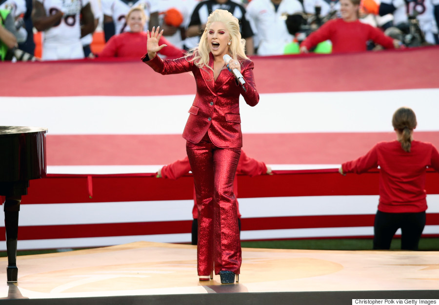 Lady Gaga's Super Bowl 50 National Anthem Outfit Makes ...