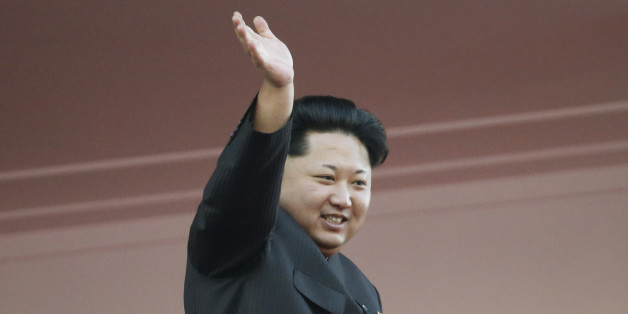 "In this Oct. 10, 2015, file photo, North Korean leader Kim Jong Un waves at a parade in Pyongyang, North Korea. It's a single image released by an enormous propaganda apparatus, showing a note handwritten by a dictator. And it contains a telling clue to the mindset behind what has become the biggest story in Asia: North Korea's surprise and disputed claim to have tested its first hydrogen bomb. The Dec. 15, 2015, note from leader Kim Jong Un calls for a New Year marked by the ""stu"
