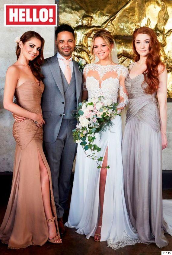 kimberley walsh wedding dress
