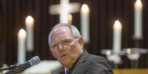 Bundesfinanzminister Wolfgang Schäuble mahnt politische Protestanten nicht übers Ziel zu schießen