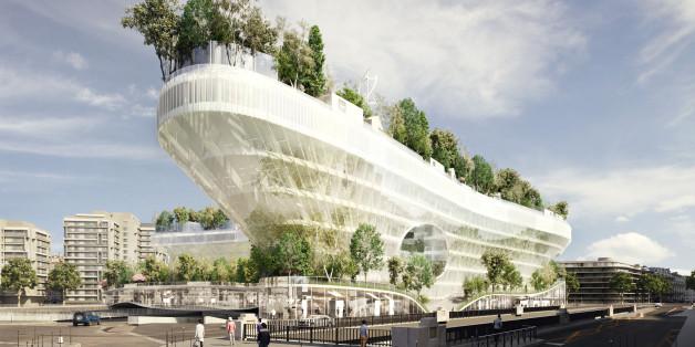 """""""Milles Arbres"""" - Tausend Bäume sollen Paris ein grüneres Bild und gleichzeitig innovative Energiegewinnung bringen."""
