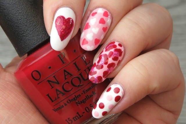 Valentines Day Nail Art Ideas Huffpost Canada