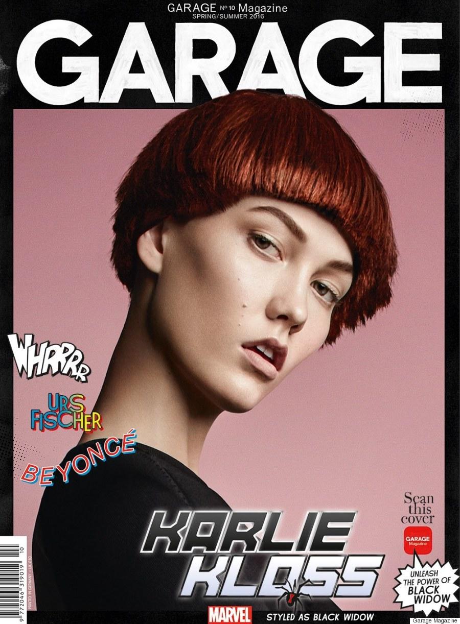 karlie kloss garage magazine