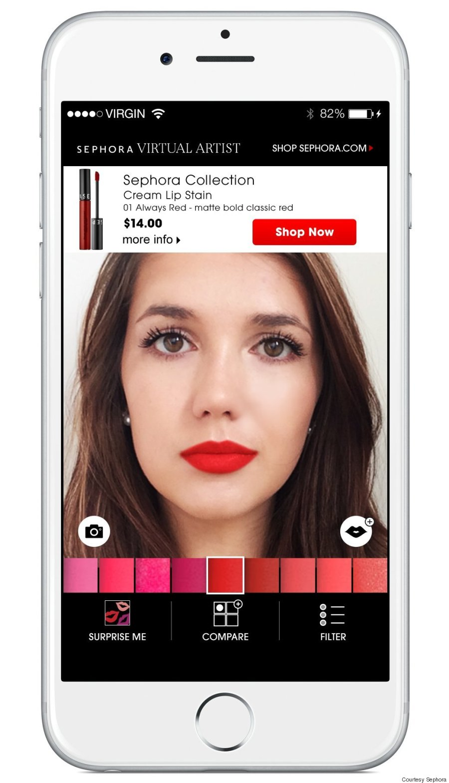 Sephoras Virtual Artist App Will Help You Find The Perfect Lip
