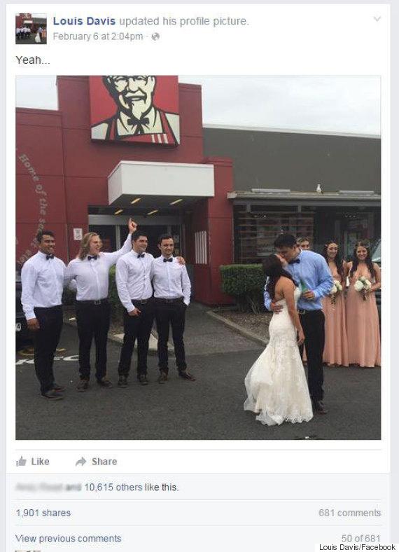 new zealand wedding kfc
