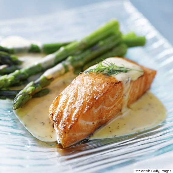 salmon fillet cooked