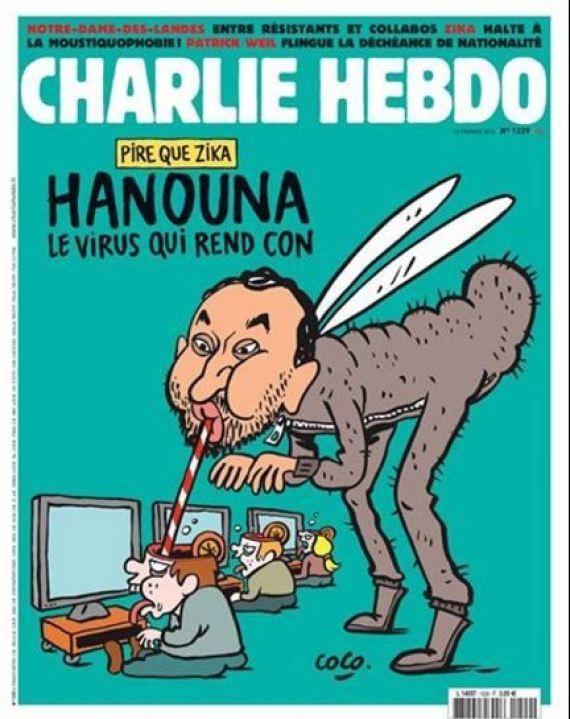 cyril hanouna charlie hebdo