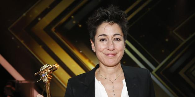 """Dunja Hayali bei der Verleihung der """"Goldenen Kamera"""" am vergangene Samstag in Hamburg."""