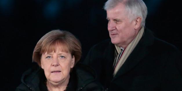 Kanzlerin Merkel und Bayerns Ministerpräsident Seehofer - durch die Flüchtlingspolitik werden sie immer mehr zu Kontrahenten