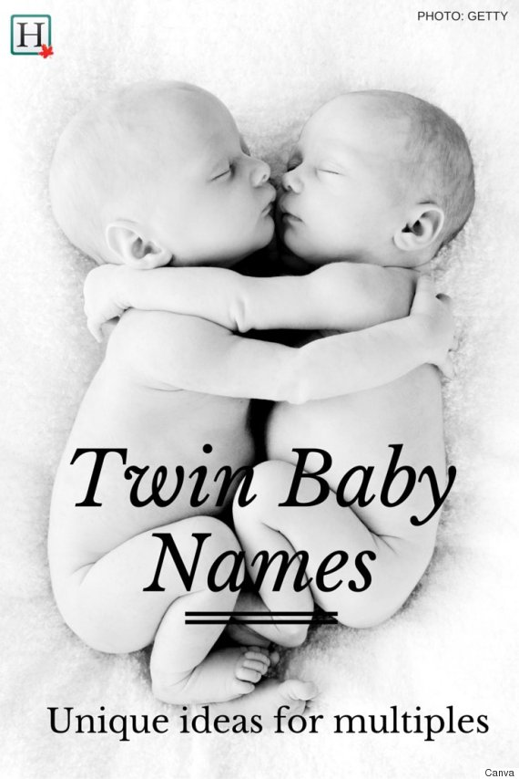 Unique baby names for your twins