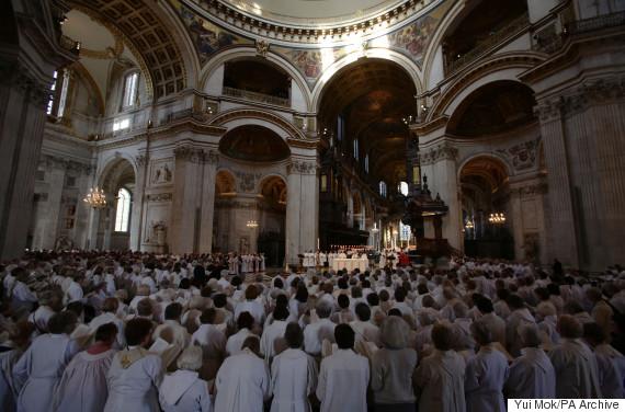 church service england